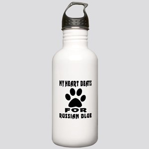 My Heart Beats For Rus Stainless Water Bottle 1.0L