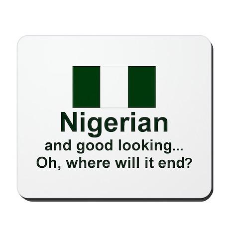 Nigerian-Good Lkg Mousepad