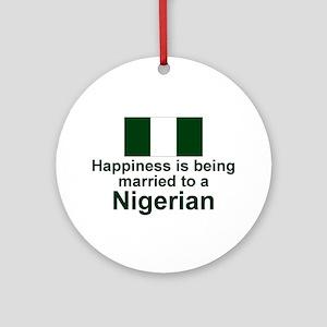 Nigerian-Married Ornament (Round)