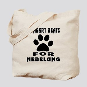 My Heart Beats For Nebelung Cat Tote Bag