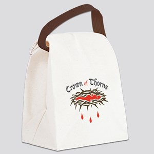 Crown of Thorns Canvas Lunch Bag