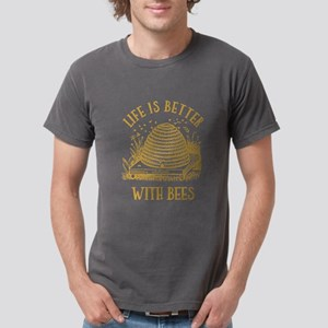 Life's Better With Bees Mens Comfort T-Shirt