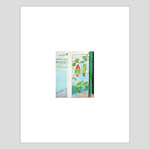 KEY WEST'S GREEN PARROT BAR D Small Poster