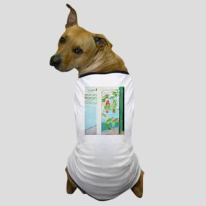 KEY WEST'S GREEN PARROT BAR D Dog T-Shirt