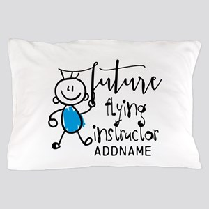 Future Flying Instructor Personalized Pillow Case
