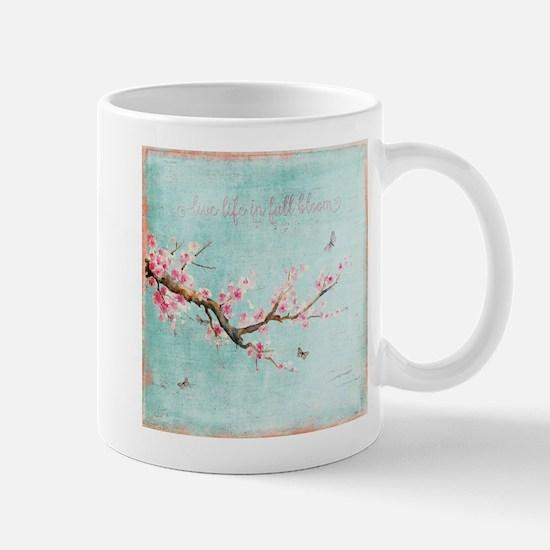 Live life in full bloom Mugs