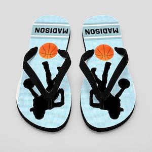 Basketball Girl Flip Flops