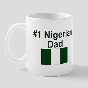 Nigerian #1 Dad Mug