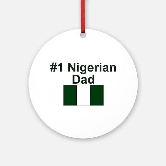 Nigerian #1 Dad Keepsake Ornament
