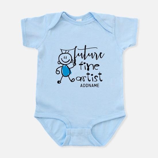 Future Fine Artist Personalized Infant Bodysuit
