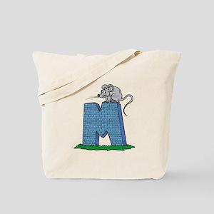 Kids Monogram M Tote Bag