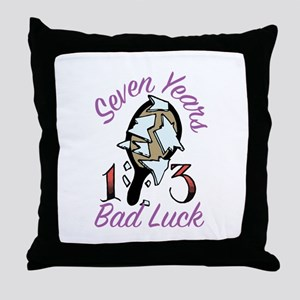 Seven Years Throw Pillow