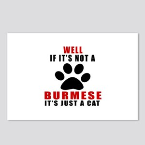 If It's Not Burmese Postcards (Package of 8)