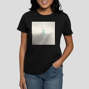 Cute Funny Mint Cat T-Shirt