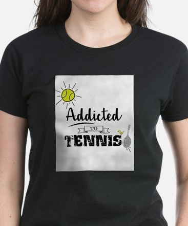 Addicted To Tennis T-Shirt