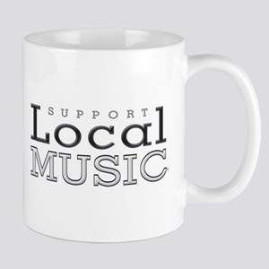 Support Local Music Mugs