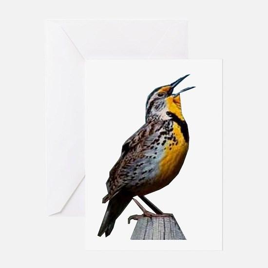 Western Meadowlark Greeting Card