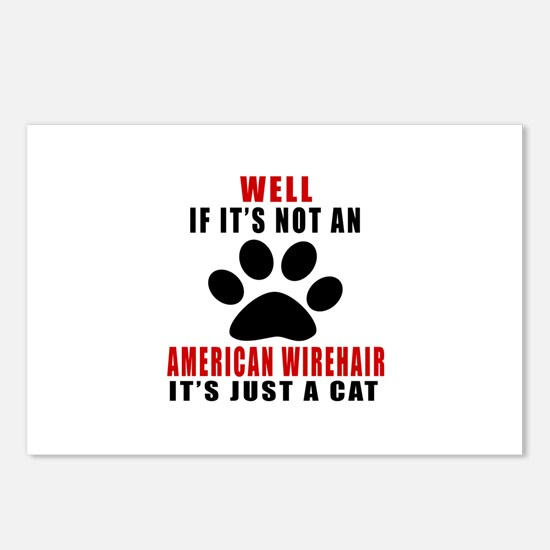 If It's Not American Wire Postcards (Package of 8)