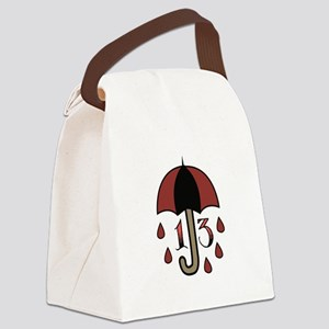 Bad Luck Umbrella Canvas Lunch Bag