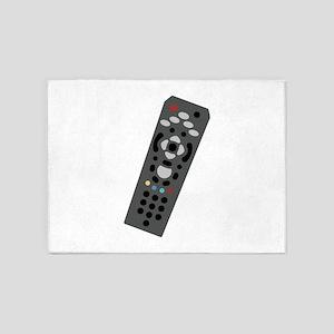 TV Remote 5'x7'Area Rug