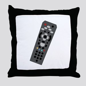 TV Remote Throw Pillow