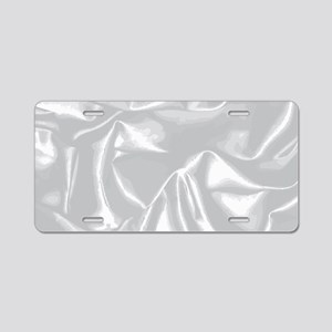 Silk Background Aluminum License Plate