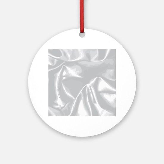Silk Background Round Ornament