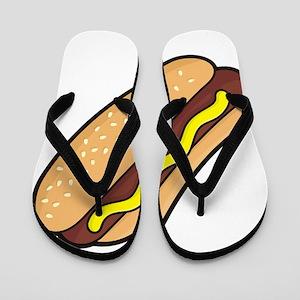 Hotdog Flip Flops