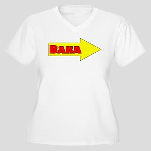 Baka Right Women's Plus Size V-Neck T-Shirt