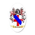 Treminell Oval Car Magnet