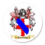 Tremelling Round Car Magnet