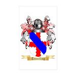 Tremelling Sticker (Rectangle 50 pk)