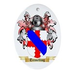 Tremelling Oval Ornament