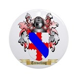 Tremelling Round Ornament