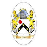 Treloar Sticker (Oval)