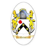 Treloar Sticker (Oval 50 pk)