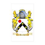 Treillet Sticker (Rectangle 10 pk)