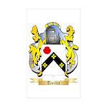 Treillet Sticker (Rectangle 50 pk)