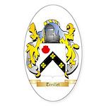 Treillet Sticker (Oval)