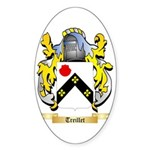 Treillet Sticker (Oval 50 pk)