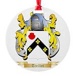 Treilles Round Ornament