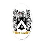 Trefusis Oval Car Magnet