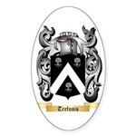 Trefusis Sticker (Oval 50 pk)