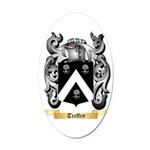 Treffry Oval Car Magnet