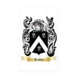 Treffry Sticker (Rectangle 10 pk)