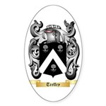 Treffry Sticker (Oval 50 pk)