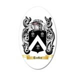 Treffry 35x21 Oval Wall Decal
