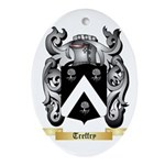 Treffry Oval Ornament