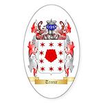 Treece Sticker (Oval)