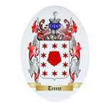 Treece Oval Ornament
